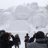 Astro Boy headlines opening of 69th Sapporo Snow Festival