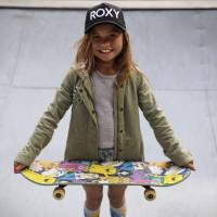 Sky's the limit for Japan's pint-sized Olympic skateboarding hopeful