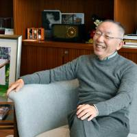 Fast Retailing Co. President Tadashi Yanai says Asia key to making firm global industry leader