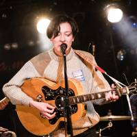 A stellar end: Vocalist and guitarist Masaya Mifune and drummer Tetsuya Nakahara of Roth Bart Baron played a new secret song to close off their set at La Mama in Tokyo on Feb. 4.