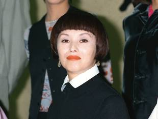 Mari Natsuki poses for a photo in 1995.