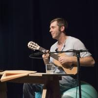 Guitar man: Julien Fournet will stage three different shows titled 'Friends, let's have a break' at Theater Commons Tokyo. | © BEA BORGERS