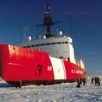 The U.S. Coast Guard cutter Polar Star, commissioned in 1976, is America's only operational heavy icebreaker and is nearing the end of its service life.   U.S. COAST GUARD