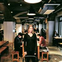 Deanna Justine, Translator, 26 (American): I knew about host clubs — I thought they were crazy and that I'd never be able to go to one because they're pretty exclusive and only for Japanese. But I have a Japanese friend who's really outgoing and a little crazy. One night we got a little drunk and saw the host club men who prowl the bridge area, and my friend was like 'Let's find one.' She hustled with him and got the price down to ¥200 an hour plus drinks. It was a really interesting and unique experience.