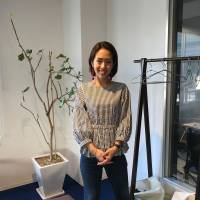 Misato Watanabe, Teacher, 30 (Japanese): I've lived here for five years but I don't think I can put it down to one specific time. I enjoy every day because I think Osaka people are so friendly. Here, when you walk around people talk to you and are very open, very Osaka-style, and it's very different to my hometown. For example, I go for walks in the morning with my dog and I've even made friends with the owners of the dogs that mine is friends with. There are six or seven of us 'dog moms.'