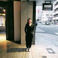 Johnna Slaby, Artist, 25 (American): I recently went to Nakazaki-cho and the whole day was filled with nice little cafes. We talked to a lot of older people about the area, and went into this small candy shop where they have a lot of old devices that were probably used 100 years ago. Then the shopkeeper took us to her friend's well, the oldest in the area. We drew water from it, I did some sketches and they gave us souvenirs. it was a very relaxed day making real connections with local people.