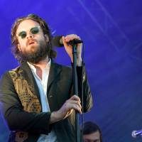 Welcome back: Father John Misty performs at the Fuji Rock Festival in Naeba, Niigata Prefecture, last year. | JAMES HADFIELD