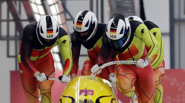 German squad completes sweep of bobsled gold medals