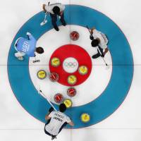 Japanese curlers earn convincing victory over U.S.