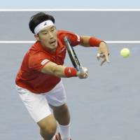 Italy sends Japan back to Davis Cup relegation playoffs