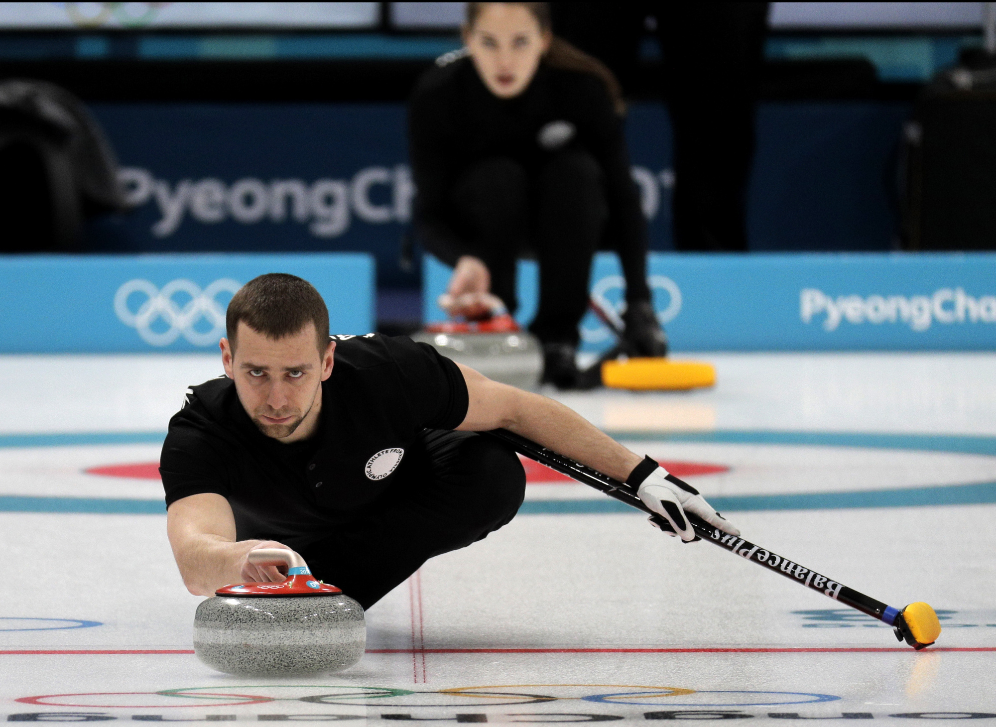 Curlers left bemused by doping allegation