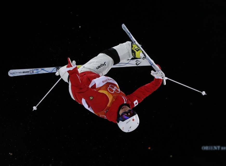 Freestyle skier Daichi Hara wins Japan's first medal of Pyeongchang Olympics