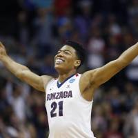 Gonzaga's Rui Hachimura was named to the All-West Coast Conference First Team on Tuesday. | KYODO