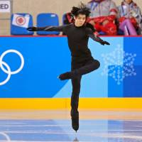 Upbeat Yuzuru Hanyu gears up for short program