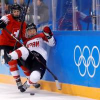 Switzerland all but ends Japan's hopes of women's ice hockey medal