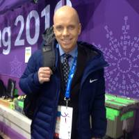 Scott Hamilton, the 1984 Olympic champion and longtime NBC announcer, says Yuzuru Hanyu's fan support is remarkable. | JACK GALLAGHER