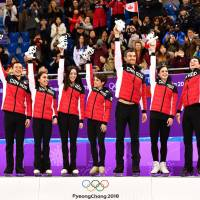 Japan takes fifth in team event as Canada secures gold