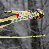 Noriaki Kasai will be competing in his eighth Winter Olympics when the ski jumping competition begins on Thursday in Pyeongchang, South Korea. | KYODO