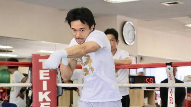Shinsuke Yamanaka says preparation going well for rematch with Luis Nery