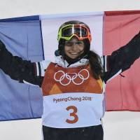 Perrine Laffont uses experience to capture France's first gold in women's moguls