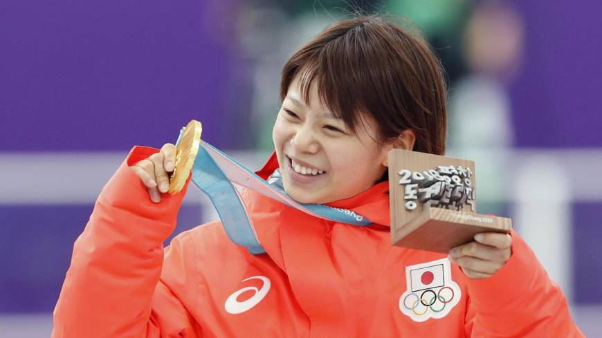 Nana Takagi emerges from sister's shadow with gold medal in mass start