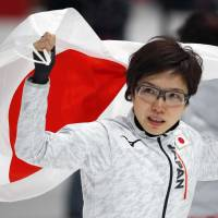 Nao Kodaira pays tribute to late friend after capturing gold medal