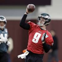 Eagles confident they can top Pats