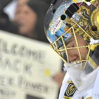 Penguins beat Golden Knights to spoil Marc-Andre Fleury's homecoming