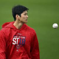 Shohei Ohtani reports to Angels