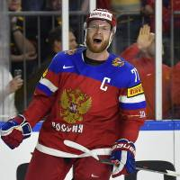 Russian hockey player Anton Belov was among the Russians who remained banned from the Pyeongchang Games after CAS rejected an appeal by Russian athletes. | AP