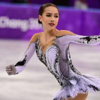 Alina Zagitova leads Evgenia Medvedeva after record-breaking short program