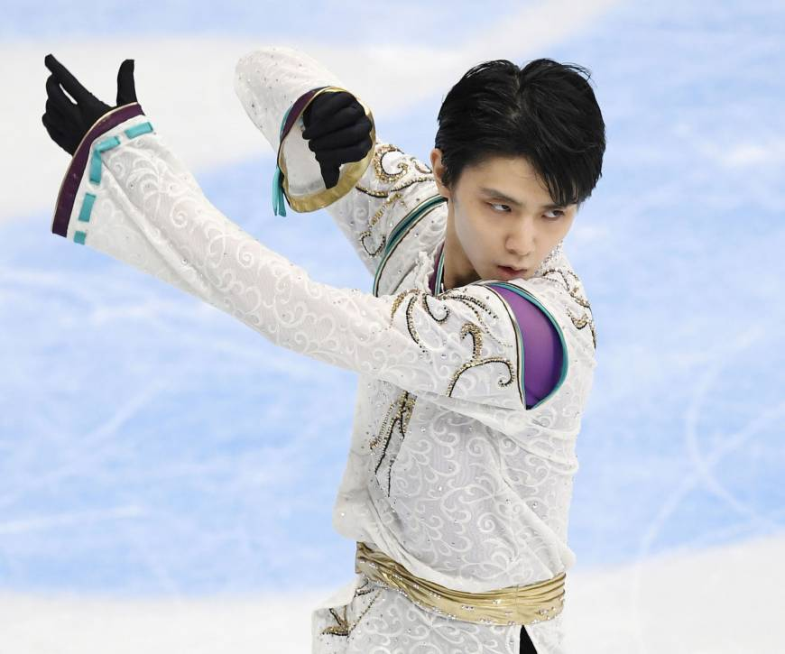 Hanyu aiming to join immortals with second straight Olympic title