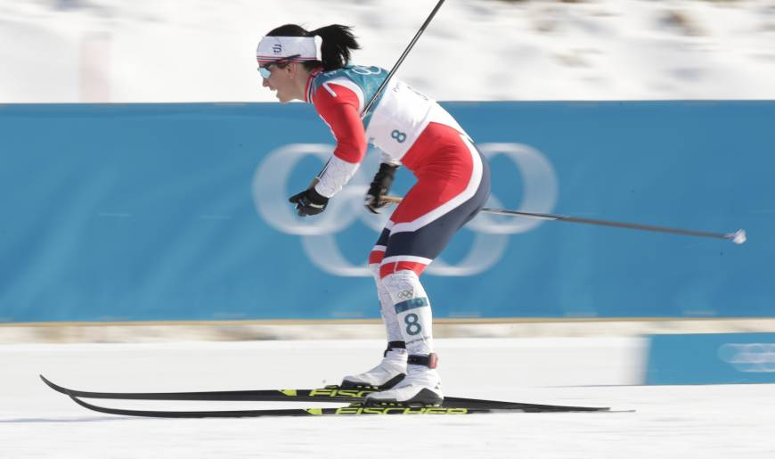 Marit Bjoergen wraps up illustrious Olympic career with 15th medal
