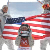 Jamie Anderson makes Olympic history with successful defense of slopestyle crown