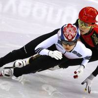 South Korea grabs gold in women's short-track 3,000-meter relay