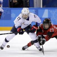Canada women notch pair of second-period goals to down archrival U.S.