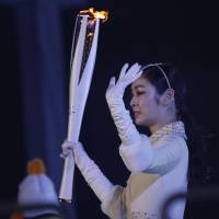 Yuna Kim describes lighting Olympic flame as emotional, surreal