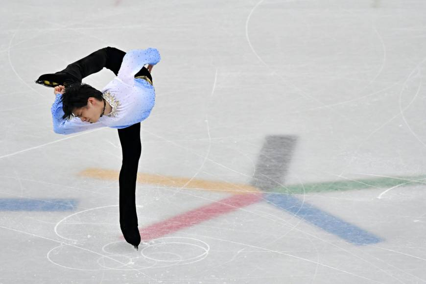 Yuzuru Hanyu on his way to the top of the men