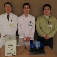 (from left) Masatoshi Kusuhara, M.D., Ph.D. and Developers