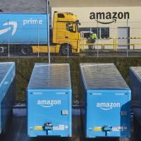 Amazon.com Inc. maintained the top spot in a brand recognition poll for the third consecutive year. | BLOOMBERG