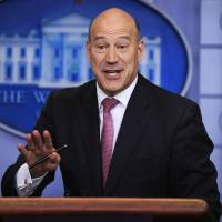 Trade skeptics gain upper hand in White House as Cohn quits