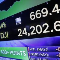 Dow surges 669 to claw back lost ground amid news that China and U.S. may work to avert trade war