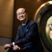 Shuji Takahashi, president and chief operating officer of Seiko Watch Corp., is seen in Tokyo in January. Forty years after nearly wiping out the Swiss watch industry with cheap quartz models, Japanese brands like Seiko are now eyeing the high end of timekeeping that has been the Alpine country's turf. | BLOOMBERG