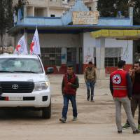 Aid convoy with supplies for 50,000 reaches Syria's Afrin, ICRC says