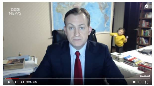 South Korea 'BBC Dad' says year after video aired has been 'mostly fun, sometimes weird'