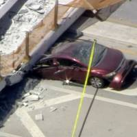 'Several fatalities' as new Miami pedestrian bridge collapses onto highway, crushing eight vehicles