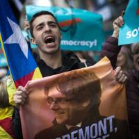 Catalan separatists face reality check after leader Carles Puigdemont's detention in Germany