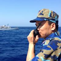 Military control of Chinese coast guard adds edge to sea disputes