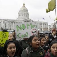 Trump's plan to ease 'war on coal' climate change rules riles Californians