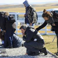 Kin visit graves of 90 fallen Argentine soldiers on Falkland Islands